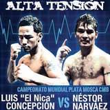 Luis Concepcion vs Nestor Daniel Narvaes full fight Video pelea 2013