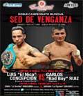 Luis Concepcion vs Carlos Ruiz - full fight Video pelea 2013 WBC