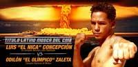 Luis Concepcion vs Odilon Zaleta - full fight Video pelea completa