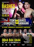 Tony Conquest vs Daniel Ammann - full fight Video 2014