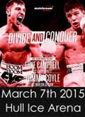 Tommy Coyle vs Martin Gethin - full fight Video 2015 result