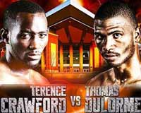 Terence Crawford vs Thomas Dulorme - fight Video 2015 result