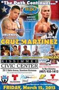 Orlando Cruz vs Aalan Martinez - full fight Video pelea WBO 2013