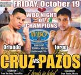 Video - Orlando Cruz vs Jorge Pazos - full fight video pelea WBO