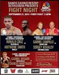 Video - Ronald Cruz vs Antwone Smith - full fight video pelea