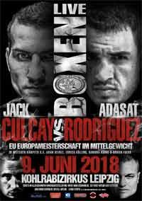 Jack Culcay vs Adasat Rodriguez full fight Video 2018