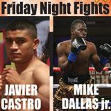 Video - Mike Dallas Jr vs Javier Castro - full fight video pelea WBO