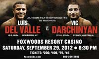 Vic Darchinyan vs Luis Orlando Del Valle - full fight Video pelea