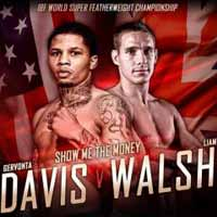 Gervonta Davis vs Liam Walsh - full fight Video 2017 IBF