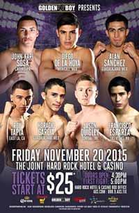 Diego De La Hoya vs Delgado - full fight Video 2015 pelea