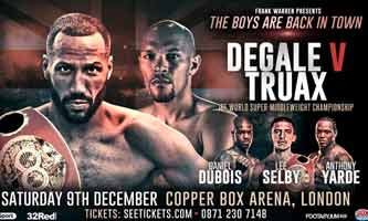 James DeGale vs Truax full fight Video 2017 IBF