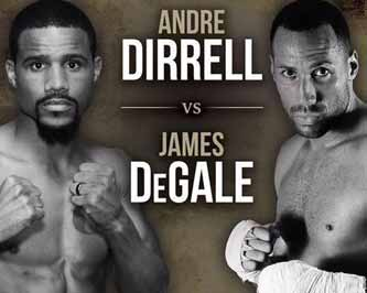 James DeGale vs Andre Dirrell - full fight Video 2015 result