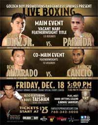 Joseph Diaz vs Hugo Partida - full fight Video 2015 pelea