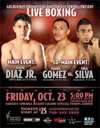 Joseph Diaz vs Ruben Tamayo - full fight Video 2015 result