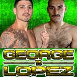 Don George vs David Alonso Lopez - full fight Video 2013