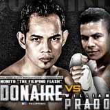 Nonito Donaire vs William Prado - full fight Video 2015 result