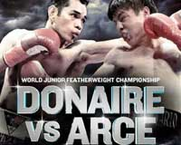 Nonito Donaire vs Jorge Arce - fight Video pelea WBO title