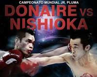 Video - Nonito Donaire vs Toshiaki Nishioka - fight video pelea WBO