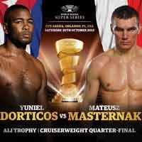 Yuniel Dorticos vs Masternak full fight Video 2018 WBSS