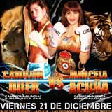 Carolina Duer vs Marcela Acuna - full fight Video pelea 2012