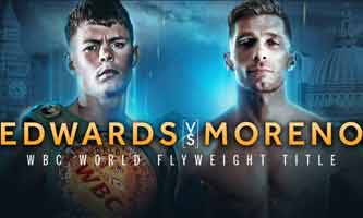 Charlie Edwards vs Angel Moreno full fight Video 2019 WBC