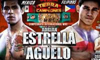 Adrian Estrella vs Adones Aguelo - full fight Video 2015 pelea