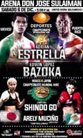 Adrian Estrella vs Edwin Lopez - full fight Video 2014 pelea
