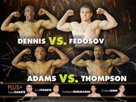 Andrey Fedosov vs Donovan Dennis - full fight Video 2015