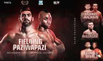 Rocky Fielding vs Abdallah Paziwapazi full fight Video 2019