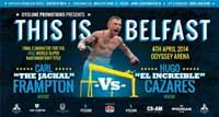 Carl Frampton vs Hugo Fidel Cazares - full fight Video pelea 2014