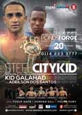 Kid Galahad vs Adeilson Dos Santos full fight Video 2014 result