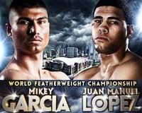 Mikey Garcia vs Juan Manuel Lopez - fight Video pelea WBO 2013