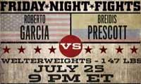 Roberto Garcia vs Breidis Prescott - full fight Video 2014 result