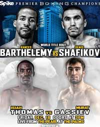 Murat Gassiev vs Isiah Thomas - full fight Video 2015