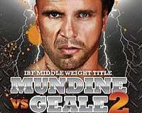 Daniel Geale vs Anthony Mundine 2 - full fight Video IBF 2013
