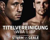 Video - Felix Sturm vs Daniel Geale - full fight Video WBA IBF titles
