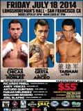 Mercito Gesta vs Luis Arceo - full fight Video 2014 result