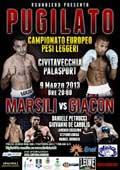 Luca Giacon vs Emiliano Marsili - full fight Video EBU 2013