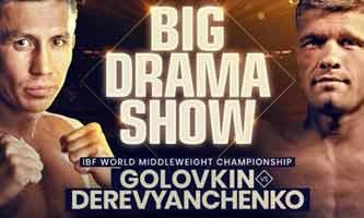 Gennady Golovkin vs Derevyanchenko full fight Video 2019 IBF