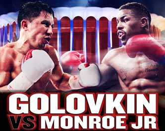 Gennady Golovkin vs Monroe Jr - full fight Video 2015 Wbc