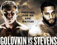 Gennady Golovkin vs Curtis Stevens - full fight Video 2013 WBA IBO