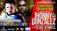 Jhonny Gonzalez vs Clive Atwell - full fight Video pelea 2014