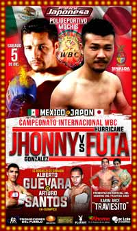 Jhonny Gonzalez vs Hurricane Futa - full fight Video 2015