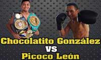 Roman Gonzalez vs Valentin Leon - full fight Video 2015 pelea
