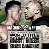 Danny Green vs Shane Cameron - full fight Video IBO title