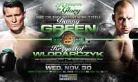 Danny Green vs Krzysztof Wlodarczyk - full fight Video WBC title video