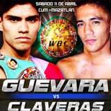 Pedro Guevara vs Richard Claveras - full fight Video 2015 pelea