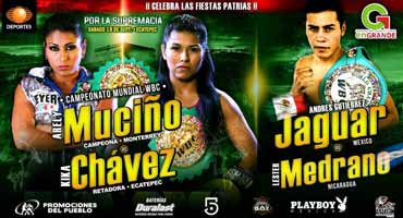 Andres Gutierrez vs Daniel Diaz - full fight Video 2015 pelea