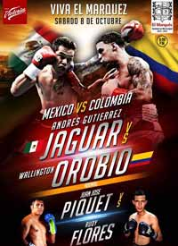 Andres Gutierrez vs Wallington Orobio - full fight Video 2016 result