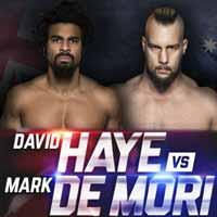 David Haye vs Mark de Mori - full fight Video 2016
